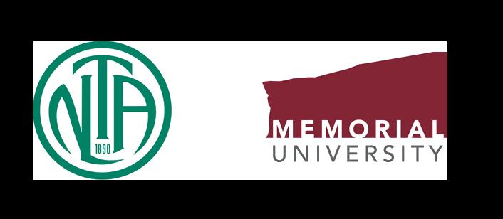 NLTA & MUN logos